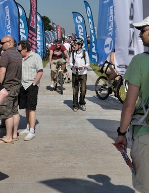 Thousands of people thronged to BikeRadar Live at Donington Park over the weekend