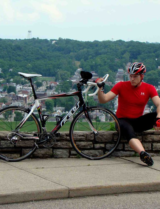 23-year-old Phil Nagle wil begin his record attempt July 6 from Tipp City, Ohio.