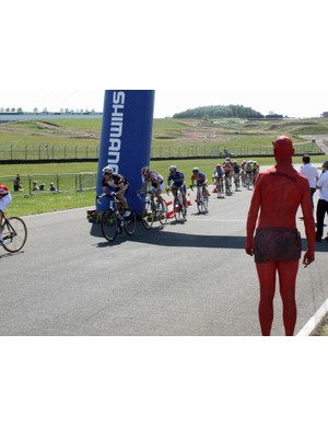 The Devil Takes the Hindmost circuit race was hotly contested