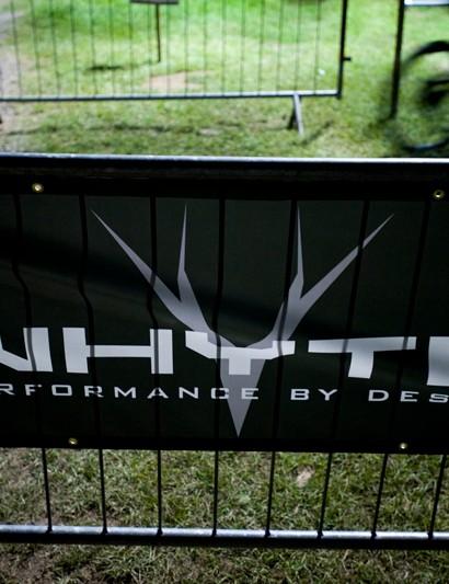 Whyte bike sponsored the enduro