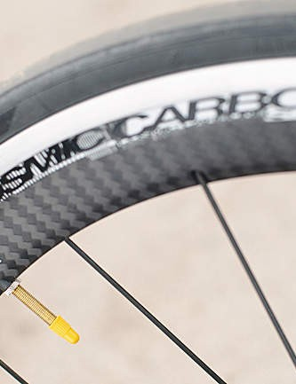 Mavic's wheelset isn't the lightest but is easily one of the most stiff available