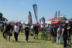 There was plenty to see and do in the Bike & Gear Expo