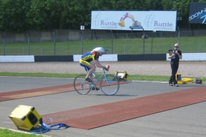 World hour record holder Graeme Obree was particularly impressed with the catering staff