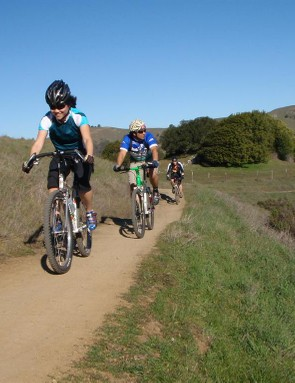A fun trail ride through Camp Tamarancho in Fairfax, California.