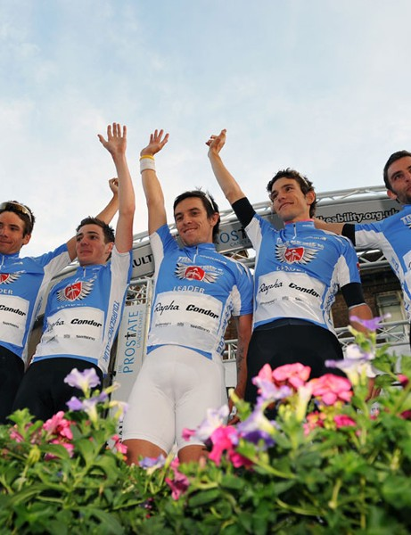 Rapha-Condor lead the overall team standings
