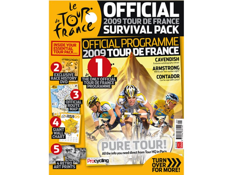 The UK Official Tour de France Guide hits the shops today