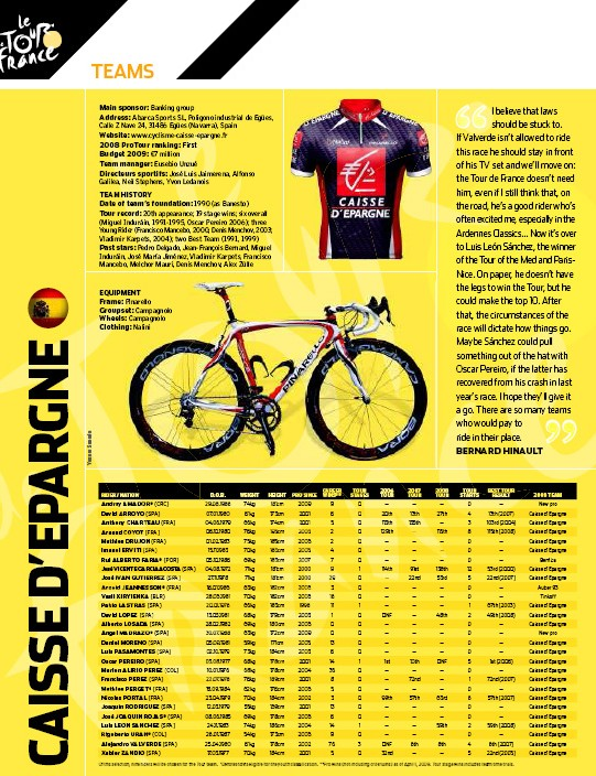 Inside: A complete guide to every Tour de France team