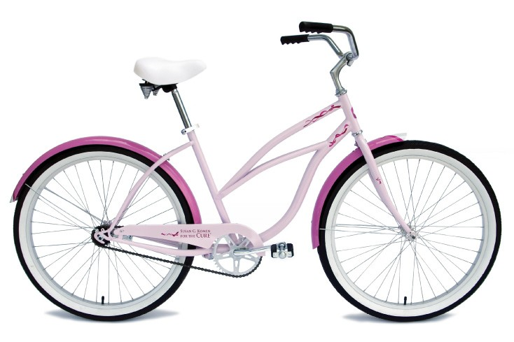 The Komen Cruiser, available in single- or three-speed.