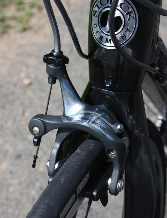 We continue to be amazed by the stopping power of Shimano's new Dura-Ace brakes