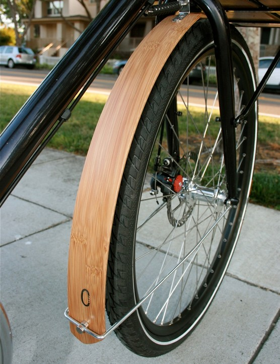 Custom Civia bamboo fenders.