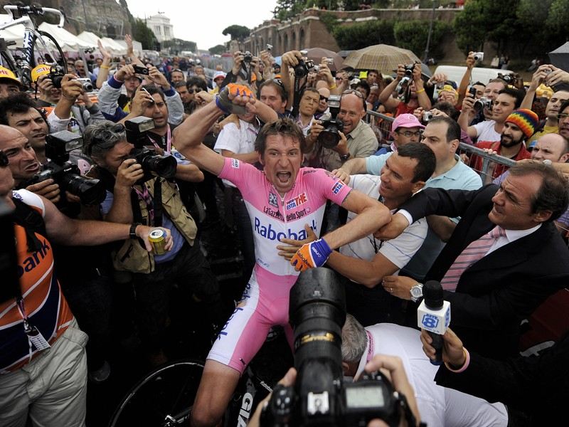 Denis Menchov's likely reaction after listening to the Cyclingnews podcast