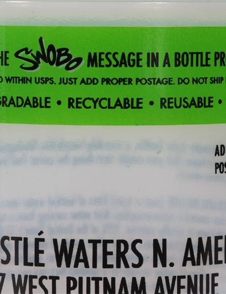 Tap Water Rules, according to the Swobo folks.