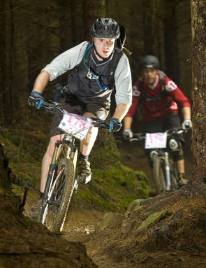 Blast down the technical singletrack in the fastest time possible
