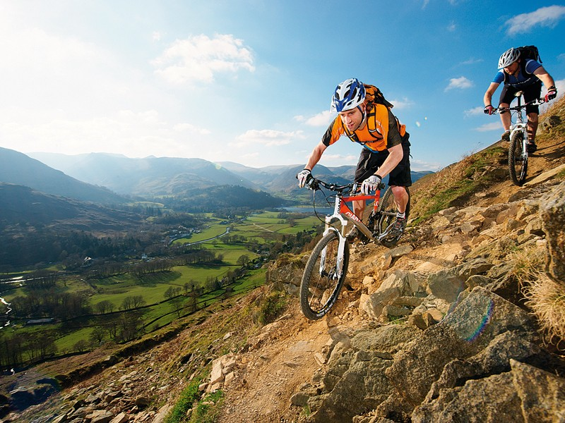 Mountain biking can help stimulate bone growth