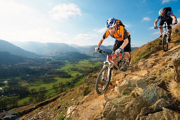 Mountain biking can help stimulate bone growth