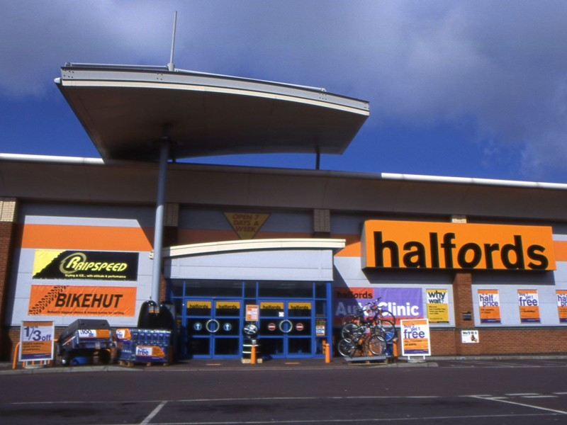 Profits have risen at Halfords thanks to the growth of cycling in the UK