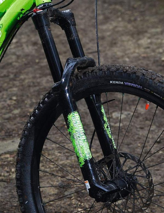 Travel adjust is essential for keeping the fork  under control on climbs