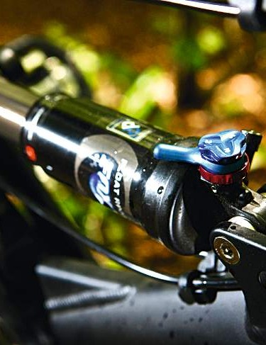 The efficient chassis means the ProPedal function is rarely needed