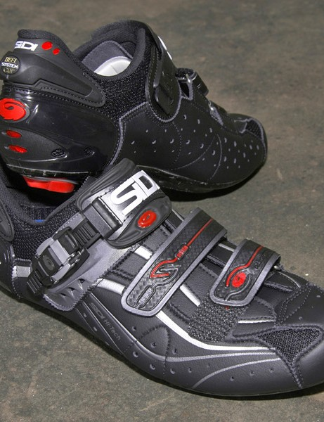 The Sidi Genius 6.6 Carbon is now available in a Mega fit that better accommodates wider feet or aftermarket insoles