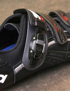 Sidi's latest Caliper buckle design is cleaner looking than the old Ultra SL one but is a little tougher to use and lacks the half step adjustment of its forebear