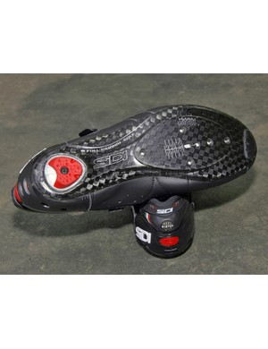 Sidi's Full Carbon Sole isn't quite as stiff as other makes but that's by design - Sidi claim the slight amount of give is more comfortable on longer rides