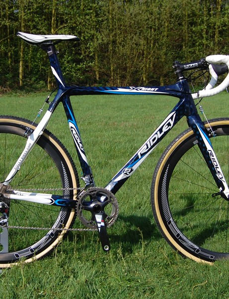 Team Fidea will use the all-new X-Night for this year's UCI 'cross series.