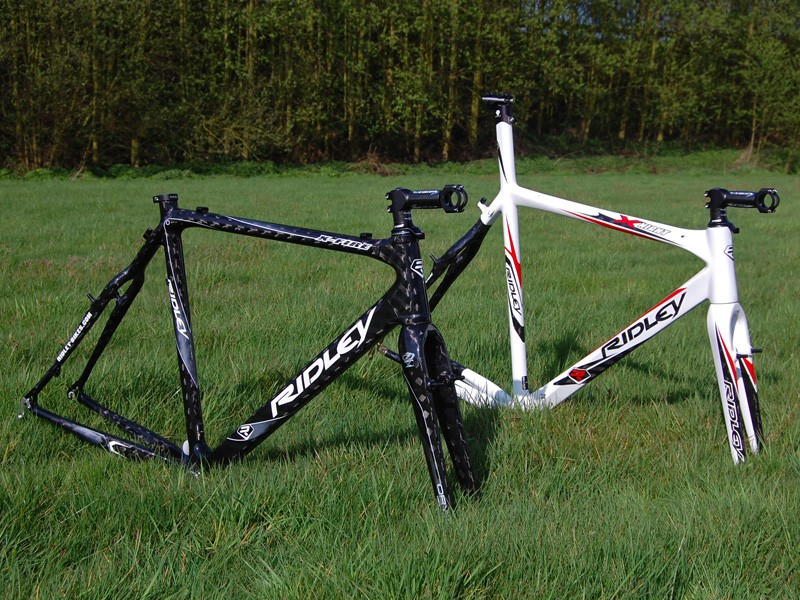 Ridley offer high-end carbon fibre 'cross machines - the X-Night and X-Fire - with two distinct geometries to suit rider preferences