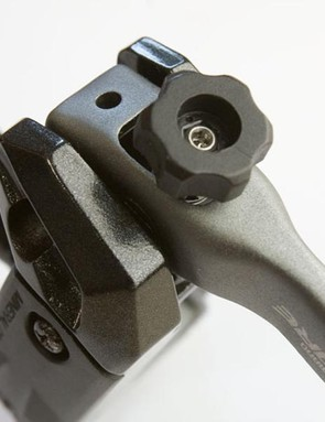 The reach adjust for the lever can now be dialled by hand