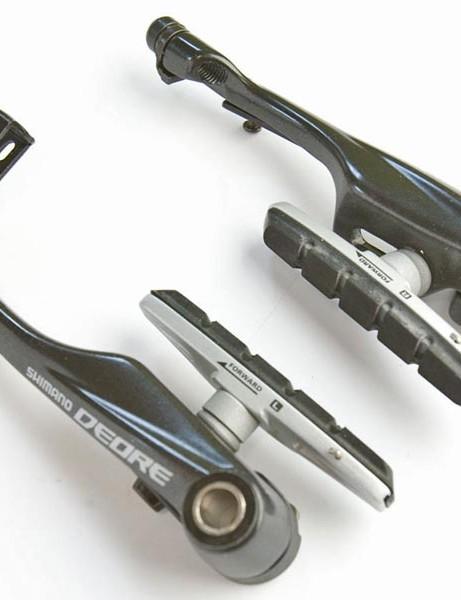 Redesigned v-brake levers