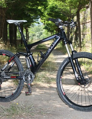 Thomas Frischknecht spent most of his racing career on hardtails, short-travel cross-country bikes and 'cross rigs but now this longer-travel Scott Genius lets him have a little more fun.