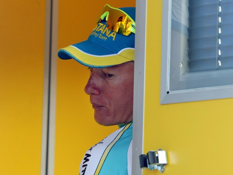 Alexandre Vinokourov will be back in action by the end of July, following a two year doping ban