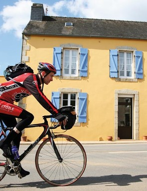 Cyling through France
