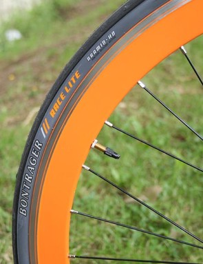 Orange District wheel