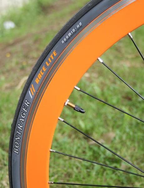 Orange District wheel