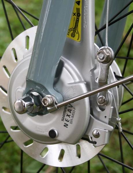 Front roller brake