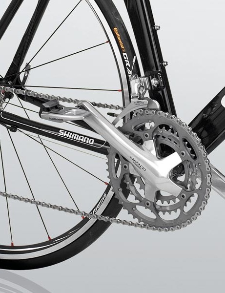 Ultegra-powered back-end