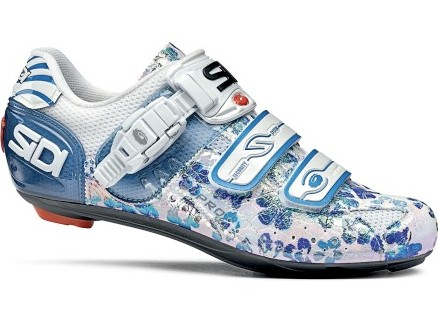 The Sidi Genius 5 Pro carbon women's road shoe.
