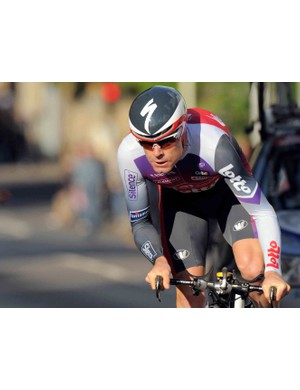 Ritchey-sponsored Australian road pro Cadel Evans (Silence-Lotto) won the 12.1km individual time-trial and first stage of the 2009 Dauphine Libere.