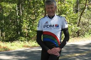 BikeRadar's L'Etape du Tour diarist Lindsay Crawford on a training ride in Northern California.