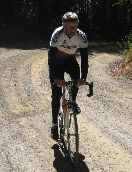 BikeRadar's L'Etape du Tour diarist Lindsay Crawford on a training ride in Northern California.