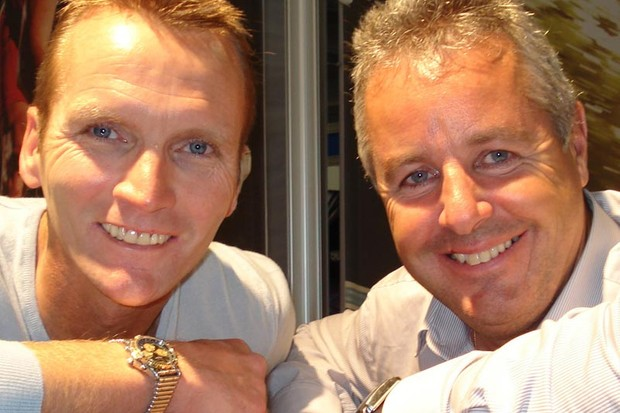 Stephen Roche and Geoff Thomas