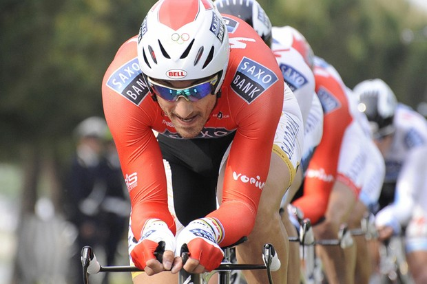Fabian Cancellara will look to win the Tour's first yellow jersey for Saxo Bank