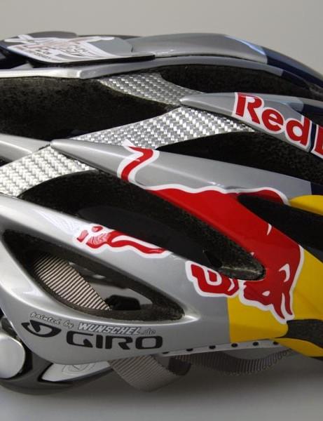 Formula One star's Red Bull helmet
