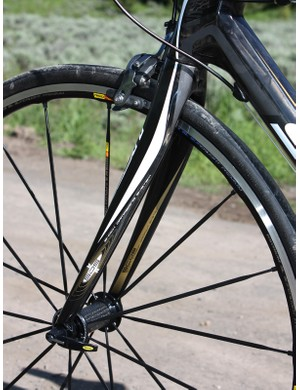 Engineered flex zones in the new CR1 fork are also said to enhance ride comfort.
