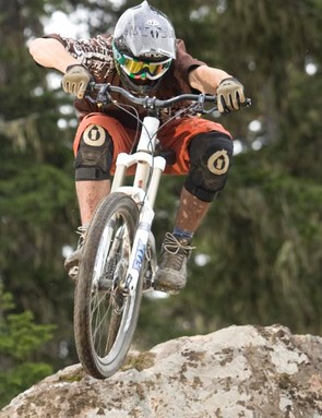 Awesome riding at Whistler bike park