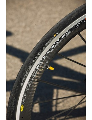 Mavic's new Cosmic Carbone SLR wheels add an extraordinaty leve of value to the Ribble