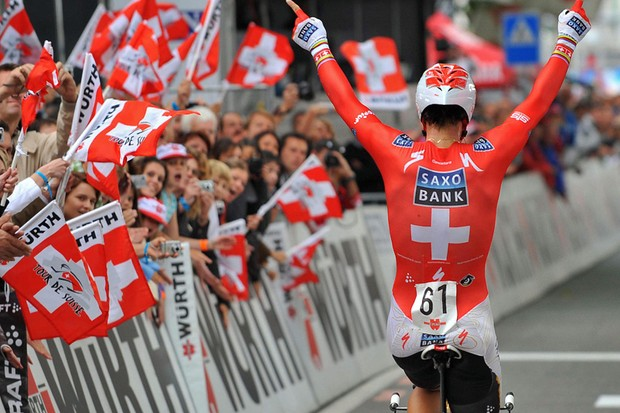 Fabian Cancellara features heavily in the Cyclingnews podcast. You'll have to listen to find out why.