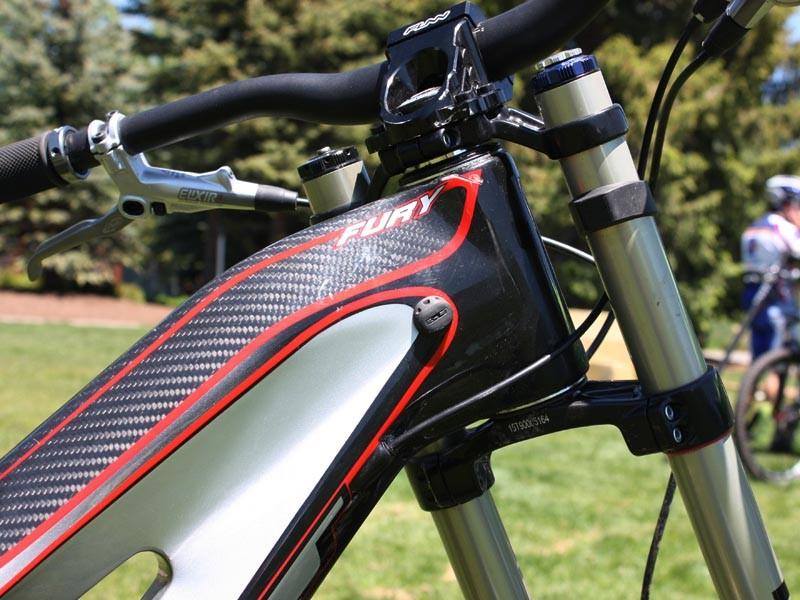 GT Fury carbon downhill bike