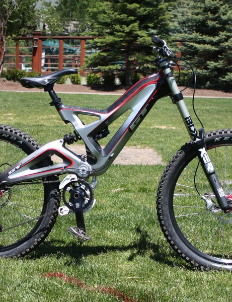 GT says its new Fury carbon downhill bike is not only stiffer but much, much stronger than its aluminium predecessor.