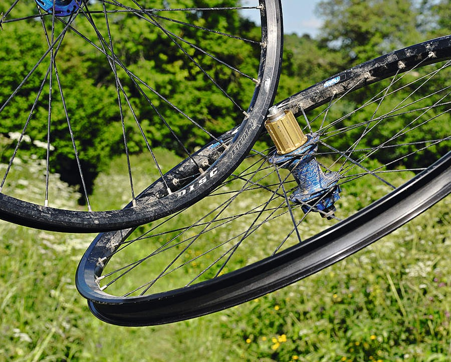 Rigida Bull rims/Hope Pro II hubs Wheelset
